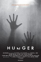 "movie poster for ""hunger"""