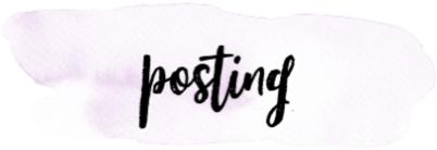 blog posts written this month